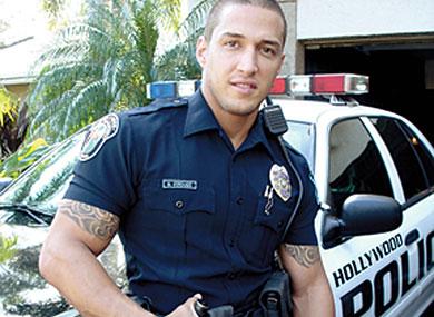 gay porn police